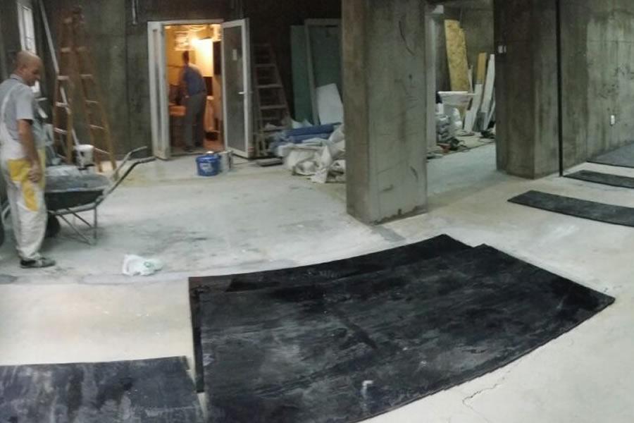 gumeni podovi radovi