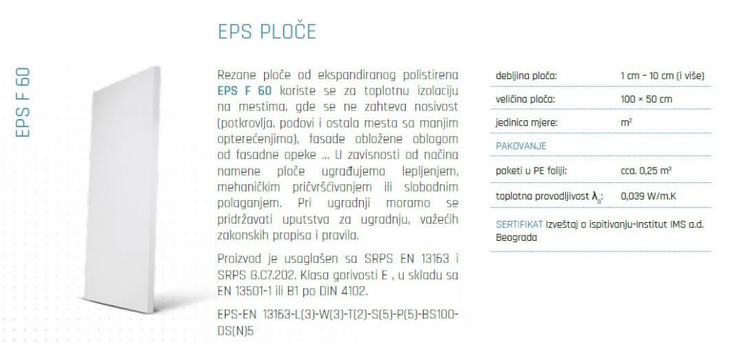 Ekspandirani polistiren EPS